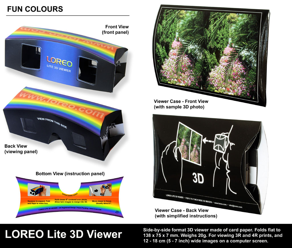 loreo product photographs loreo lite 3d viewer product
