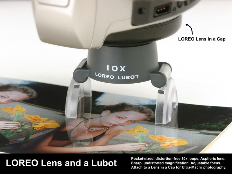LOREO lens and a Lubot