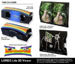 LOREO Lite 3D Viewer - Fun Colours - Product Composite - Fun Colours